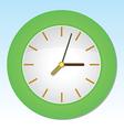 Cartoon wall clock vector