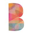 B alphabet vector