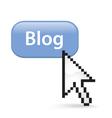 Blog button click vector