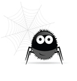 Sweet and funny spider vector