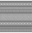 Seamless pattern with white lace vector