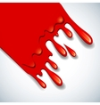 Abstract blood background vector