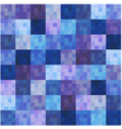 Seamless square grid pattern vector