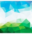 Colorful mosaic triangle background vector