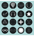 Set of hand drawn vintage objects for design vector