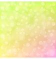 Spring background with bokeh vector