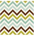 Seamless retro zig zag texture pattern vector