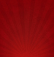 Red sunburst cardboard paper vector