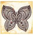 Beautiful butterflies seamless vector