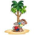 Monkeys and tree vector