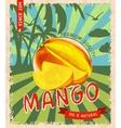 Mango retro poster vector