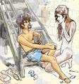 Romeo and juliet vector