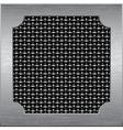 Metal frame vector