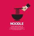 Noodles eps10 vector