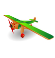 Child airplane vector