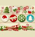 Christmas sweets vector