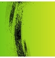 Tire tracks background green vector