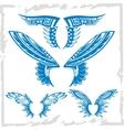 Wings set vinyl-ready vector