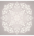 Beautiful abstract ornament on bright background vector
