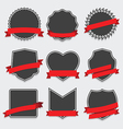 Set of badge and labels vector