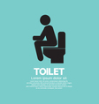 Toilet eps10 vector
