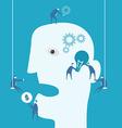 Brainstorm and teamwork concept vector