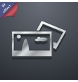 File jpg icon symbol 3d style trendy modern design vector