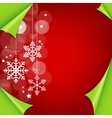 Abstract colorful red christmas background vector