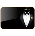 Premium quality tuxedo vector