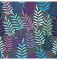 Leaf floral abstract seamless vector