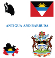 Antigua and barbuda flag vector