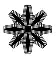 Ornamental star patterns vector