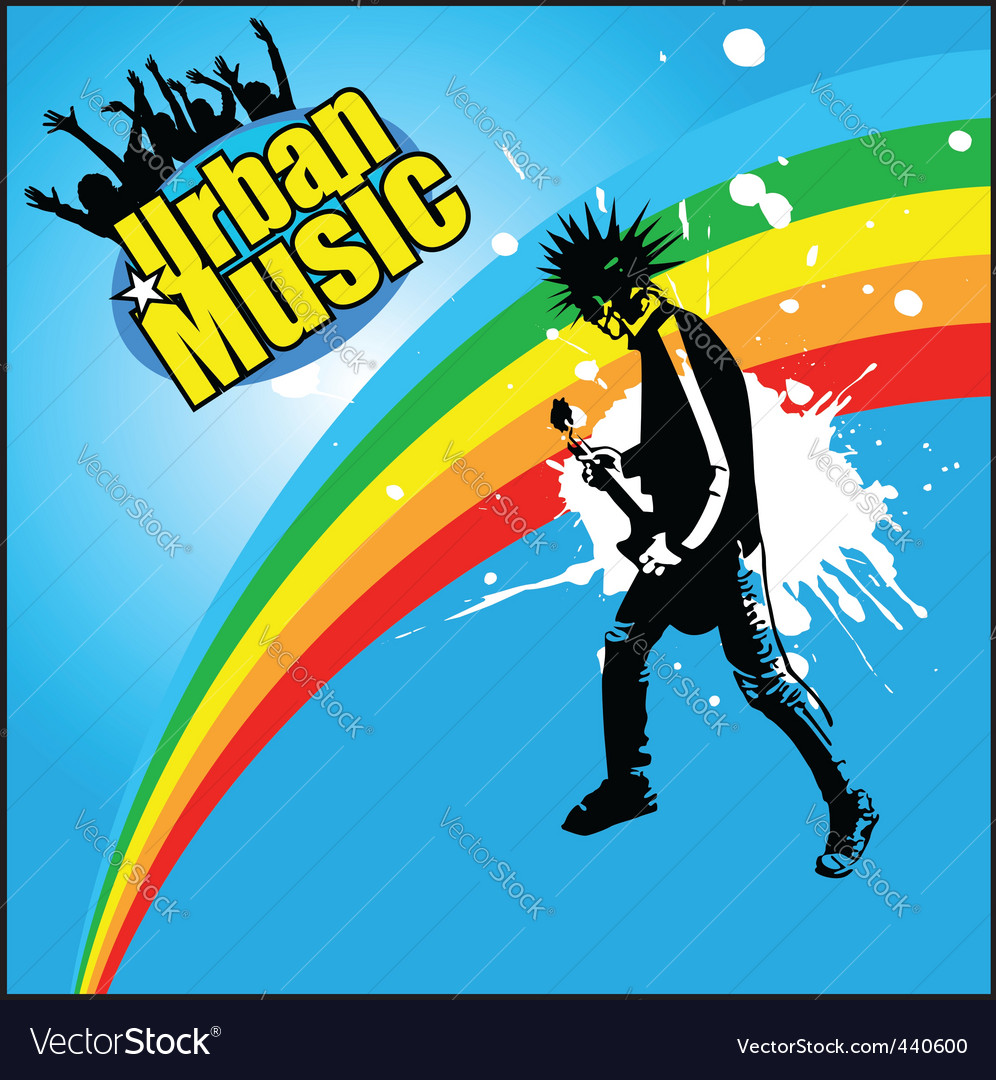 A man and his guitar vector   Price: 1 Credit (USD $1)
