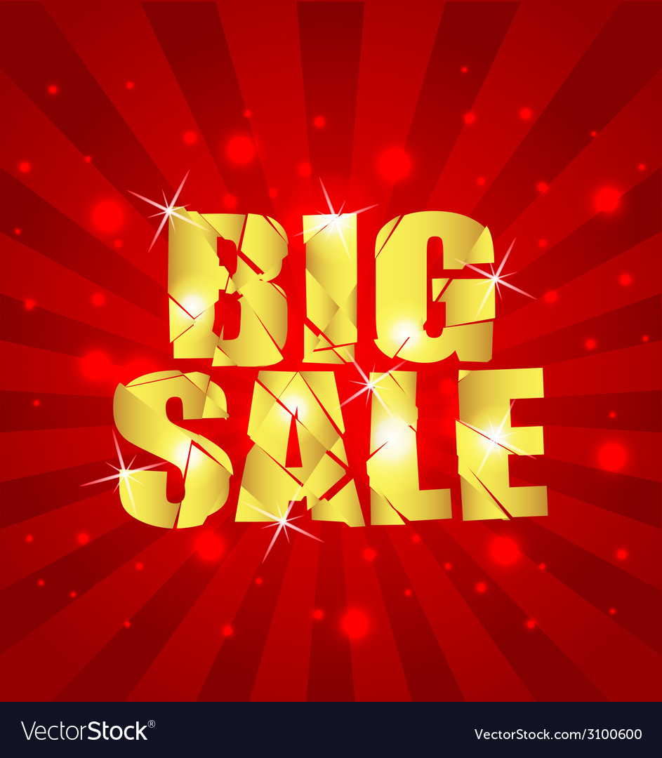 Big sale background sample vector | Price: 1 Credit (USD $1)