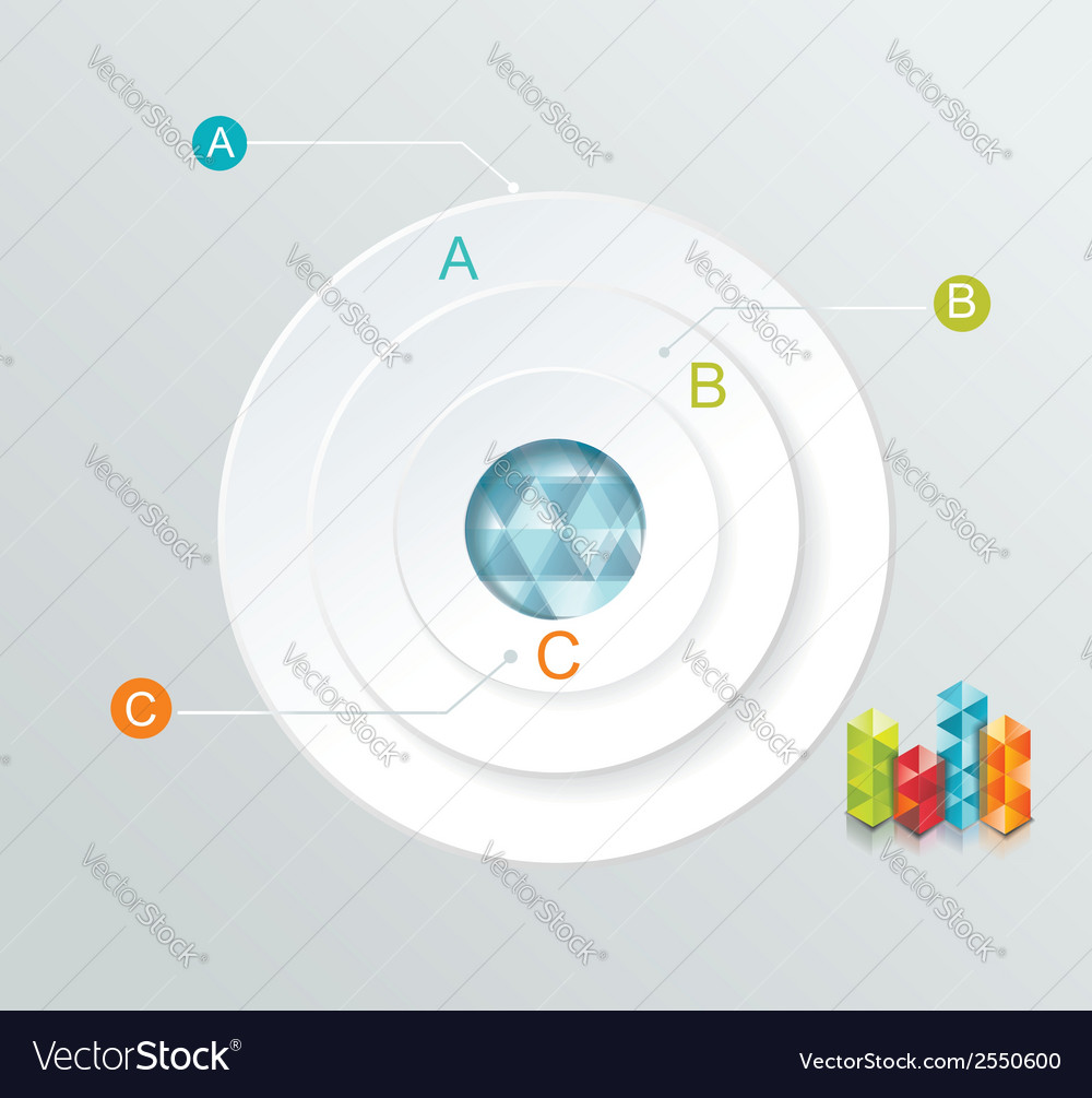 Business infographics circle style can be used for vector | Price: 1 Credit (USD $1)