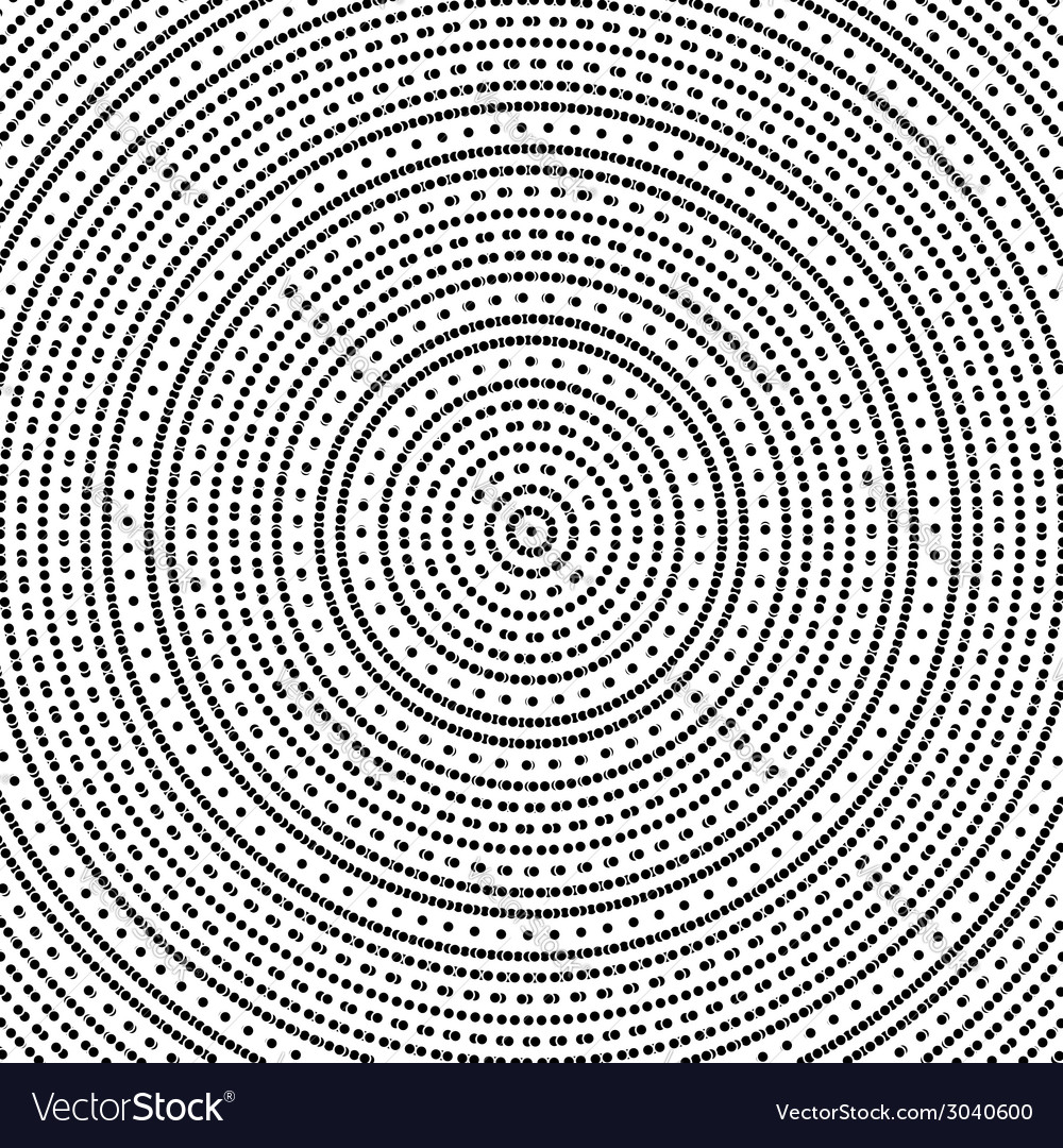 Geometric modern seamless pattern with circles vector | Price: 1 Credit (USD $1)