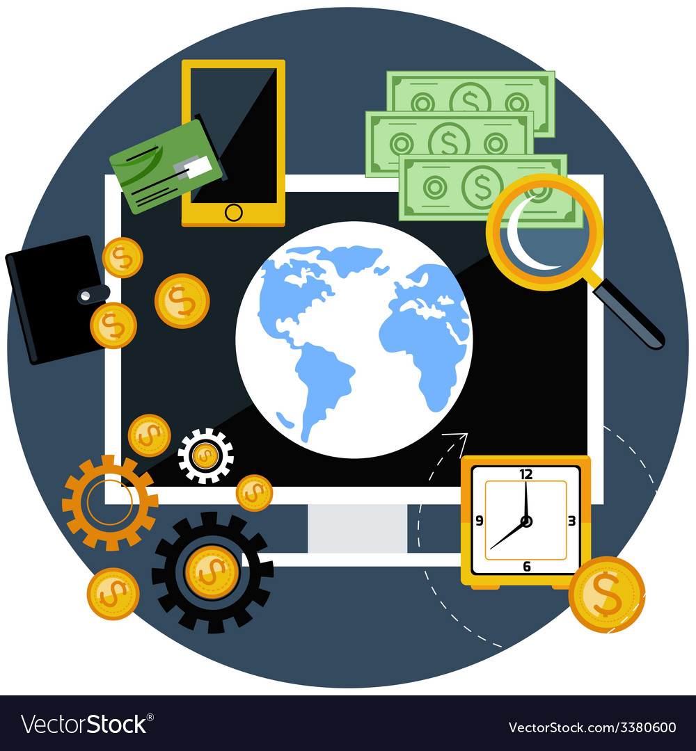 Global finance and economy vector | Price: 1 Credit (USD $1)