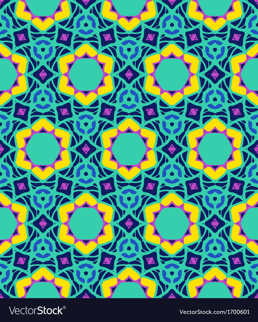 Bold arabesque pattern vector | Price: 1 Credit (USD $1)