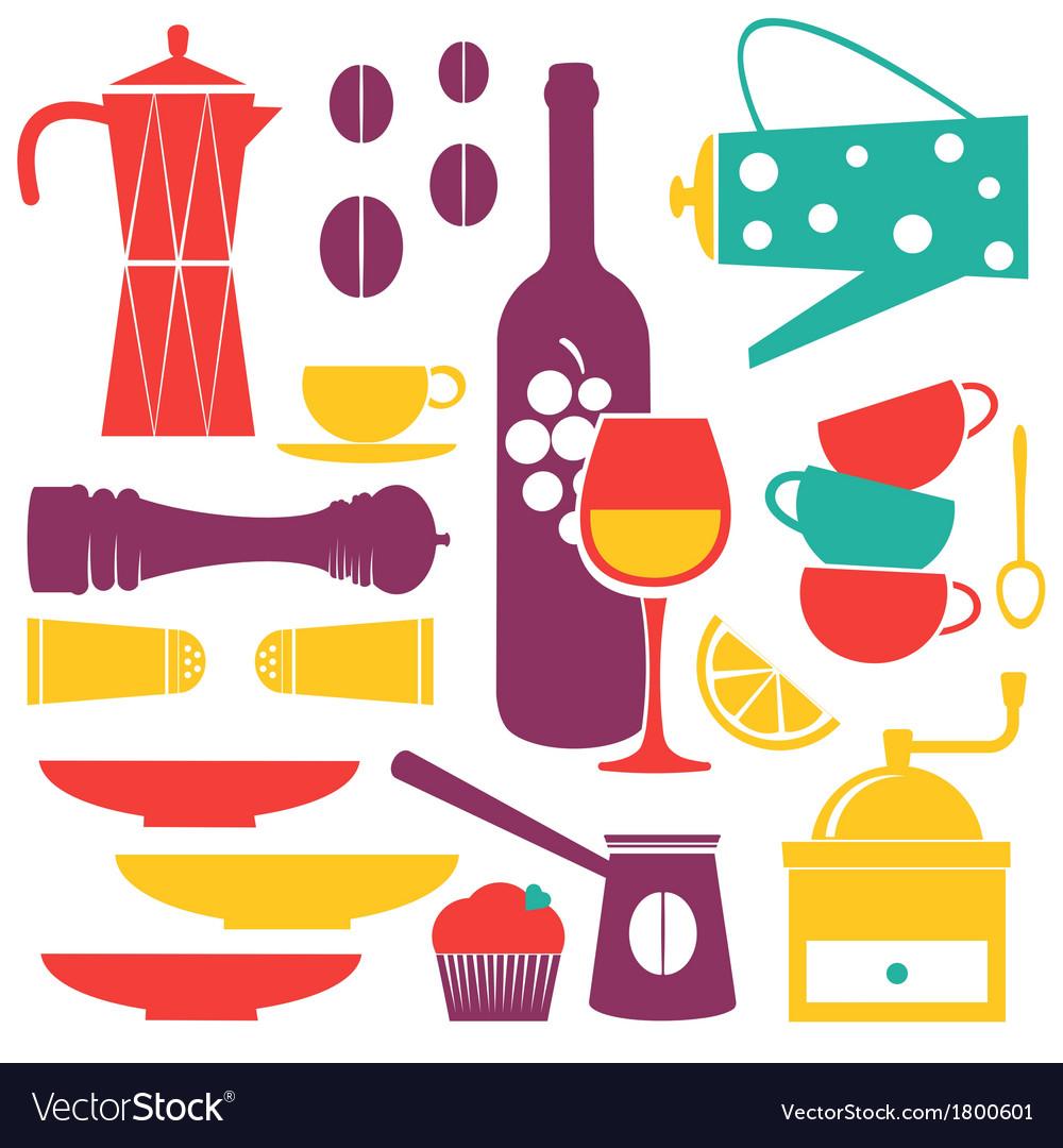 Kitchen background vector | Price: 1 Credit (USD $1)