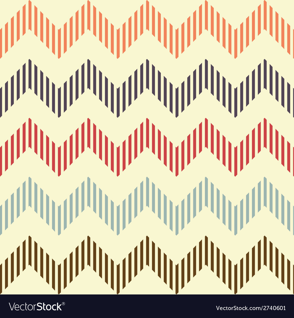 Seamless geometric wavy pattern vector | Price: 1 Credit (USD $1)