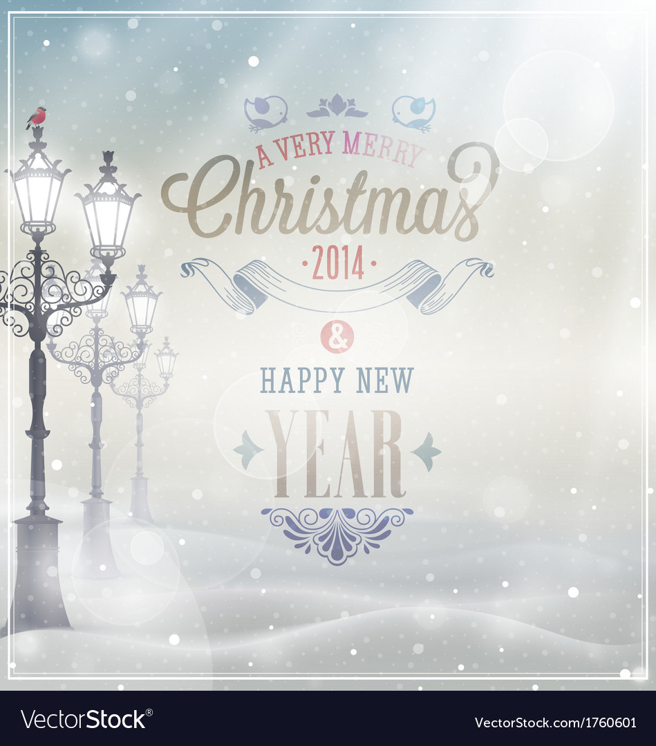 Xmas card vector | Price: 1 Credit (USD $1)