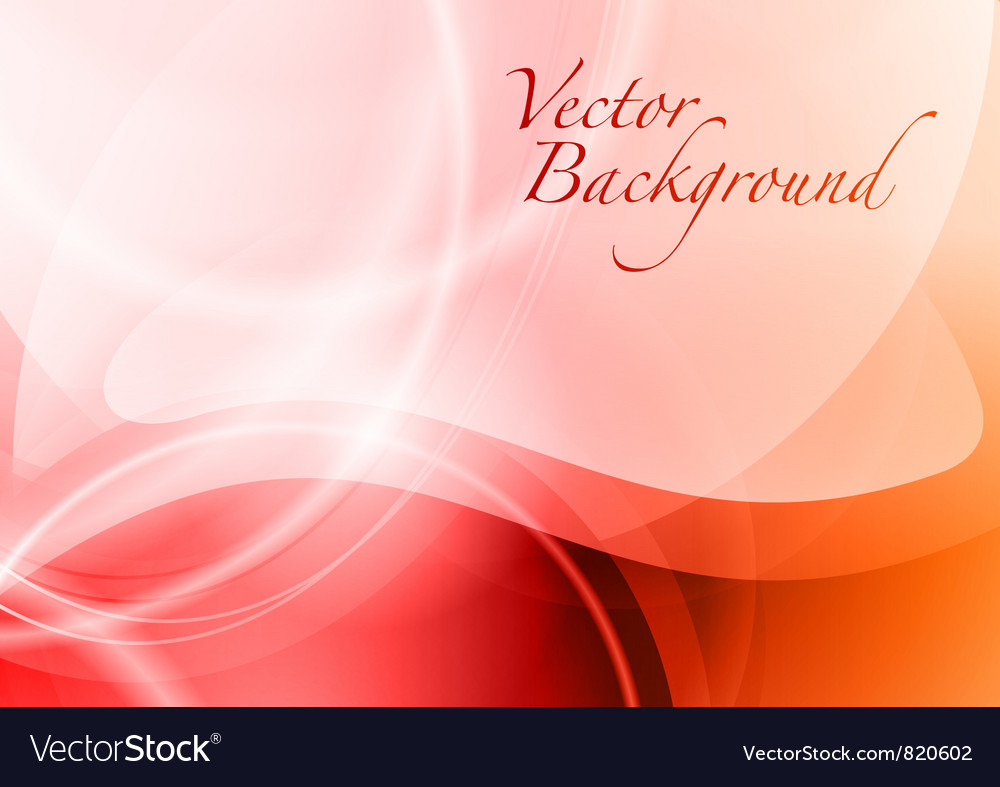 Background abstract red wave vector | Price: 1 Credit (USD $1)