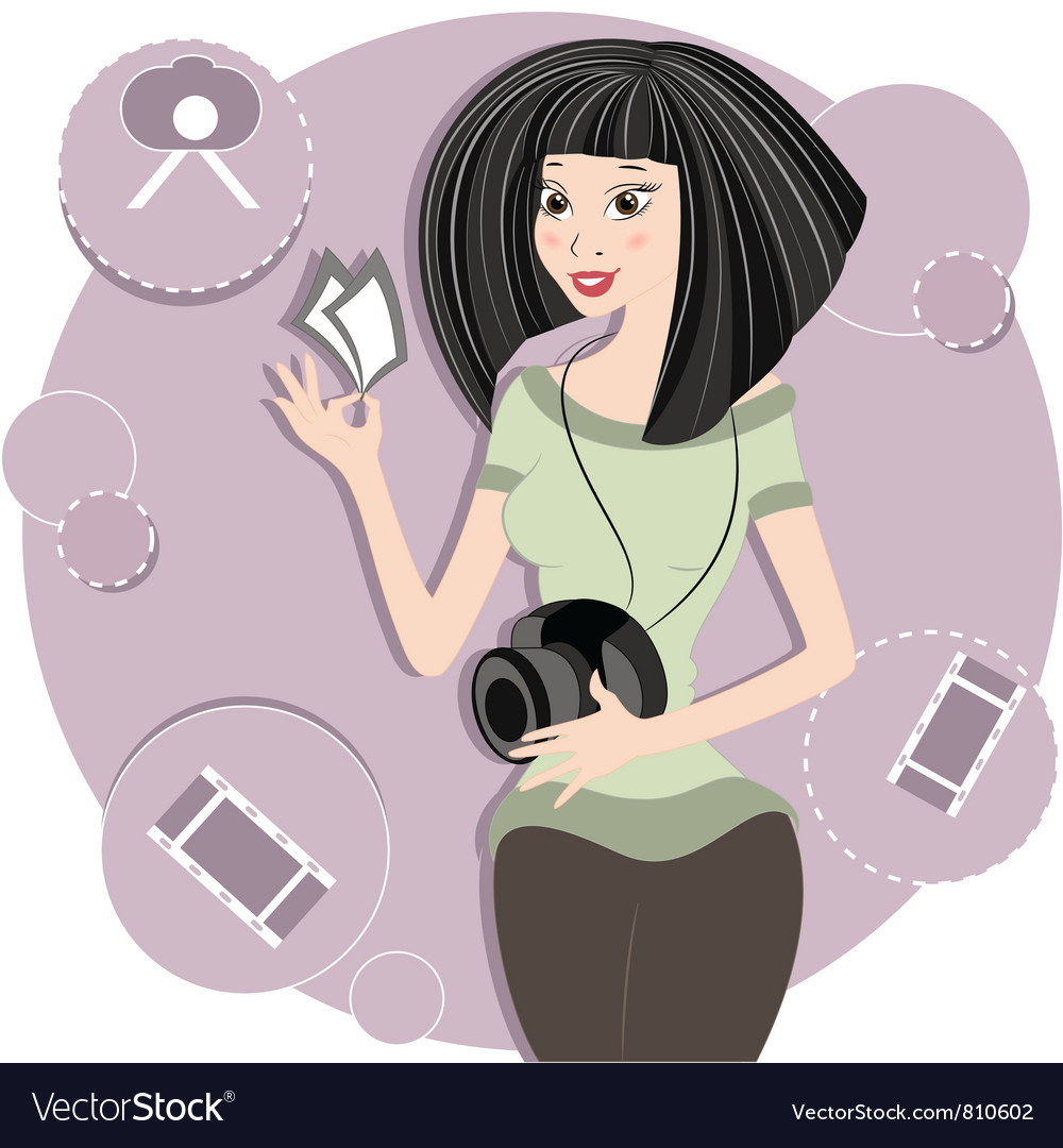 Fashion photographer vector | Price: 3 Credit (USD $3)