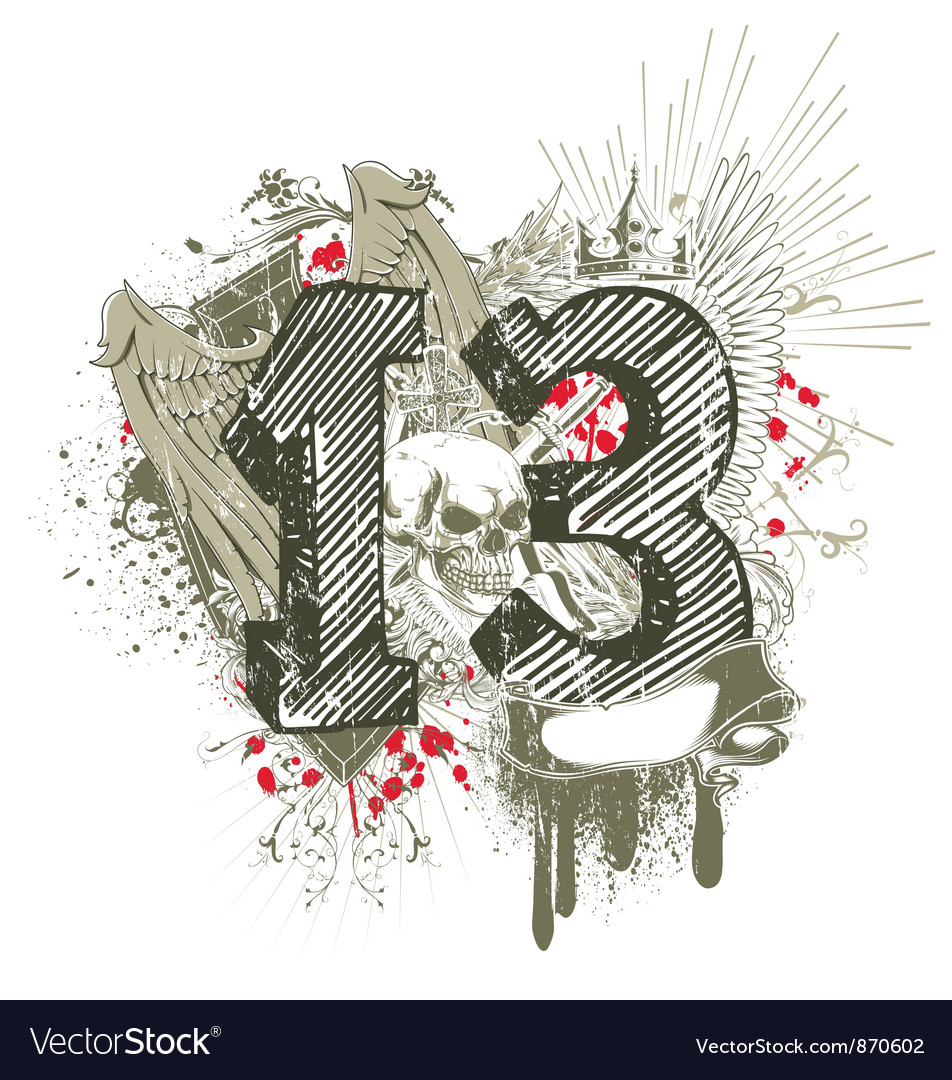 Grunge t-shirt design vector   Price: 1 Credit (USD $1)