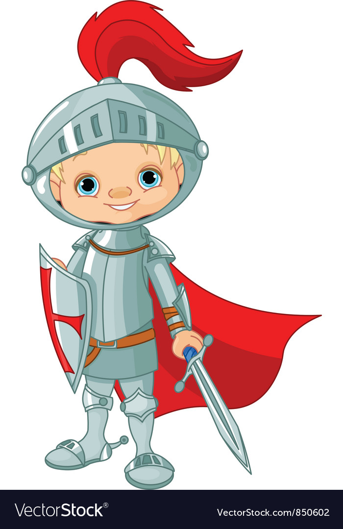 Knight boy vector | Price: 1 Credit (USD $1)