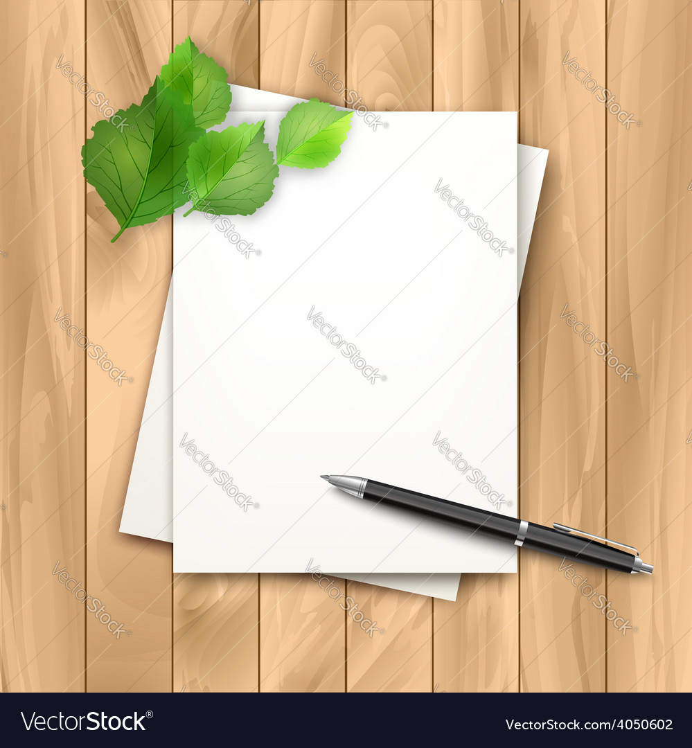 Note sheets of paper vector | Price: 3 Credit (USD $3)