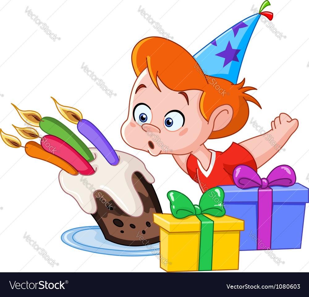 Birthday boy vector | Price: 1 Credit (USD $1)