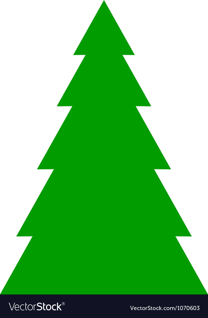 Fir tree background vector | Price: 1 Credit (USD $1)