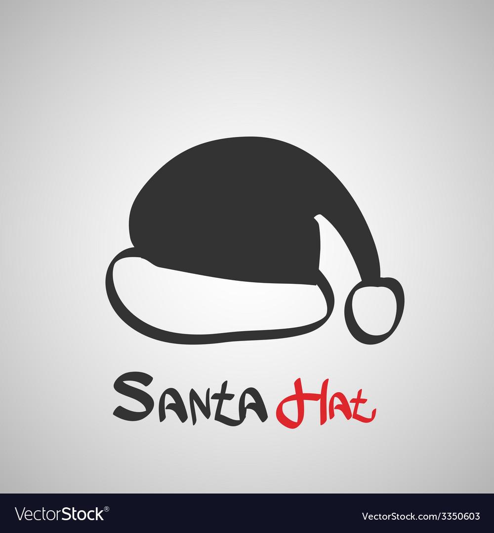 Santa hat icon vector | Price: 1 Credit (USD $1)