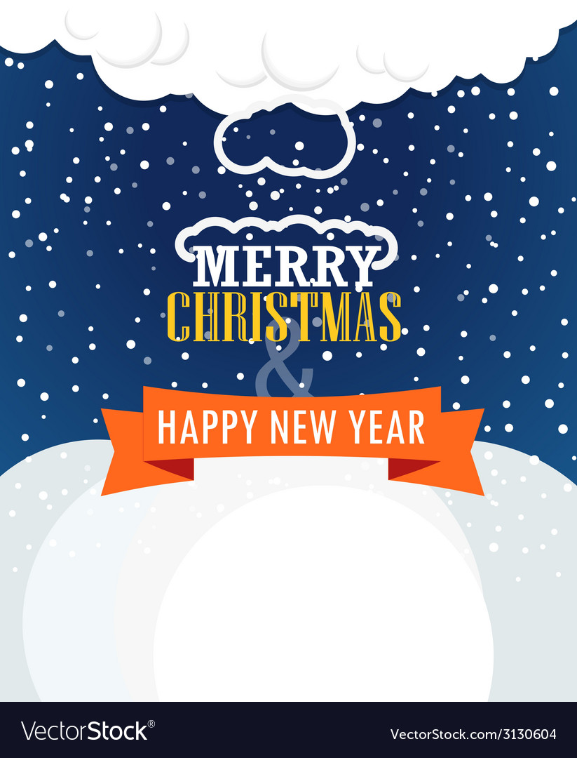 Christmas greating card vector | Price: 1 Credit (USD $1)
